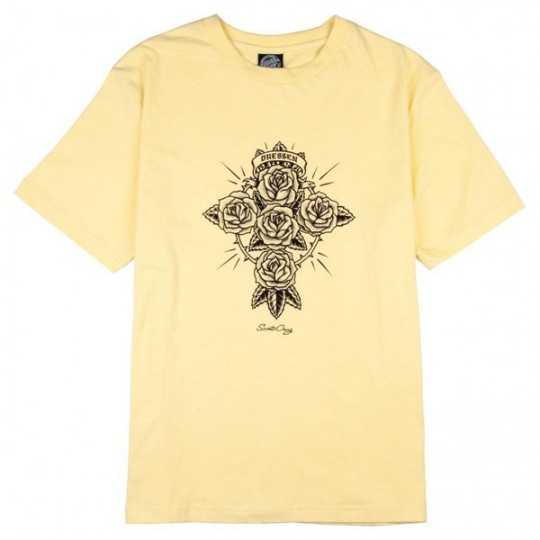 Santa Cruz Dressen Rose Cross Buttercup Women T-Shirt
