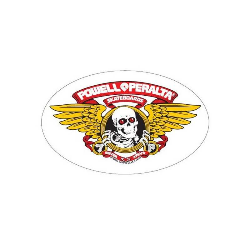 "Powell Peralta Winged Ripper 5"" Autocollant"