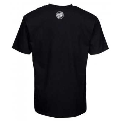 "Santa Cruz ""Not a Crime"" Black Tee Shirt"
