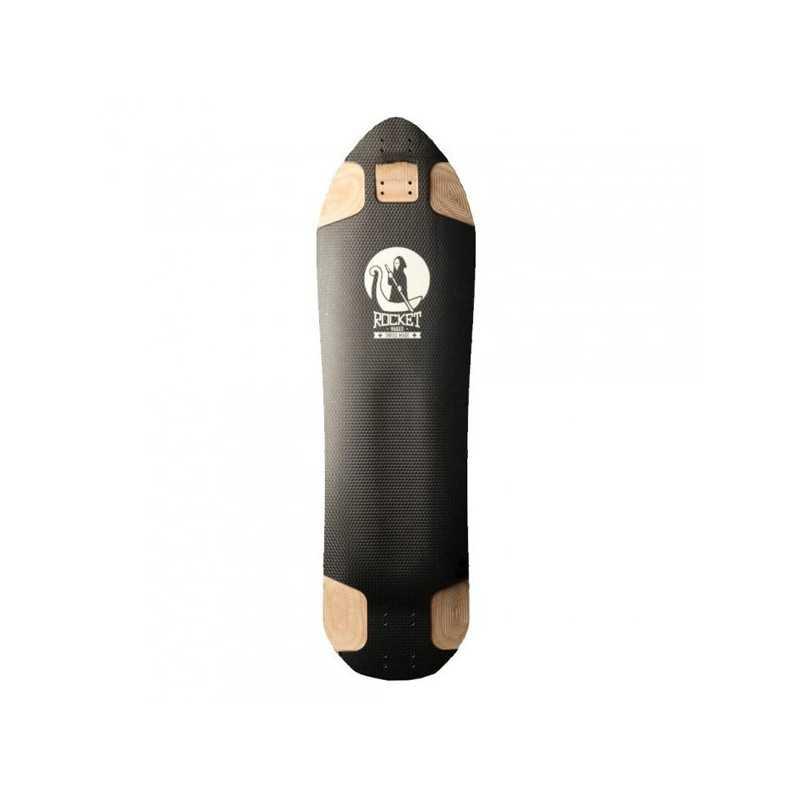 Rocket Hades Black Plateau Longboard