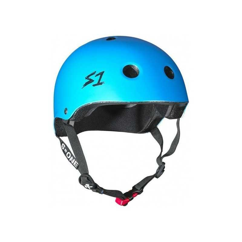 S-One Mini Lifer Bleu Cyan Casque(Coque)