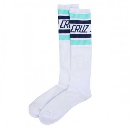 "Santa Cruz ""Fresh"" White Socks"