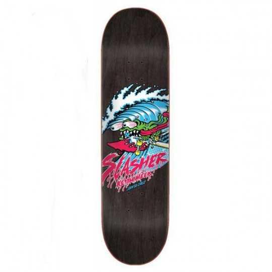 "Santa Cruz Wave Slasher 7.75"" Plateau Skateboard"