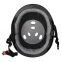 Triple Eight Sweatsaver Black Rubber With Visor Casque Roller Derby