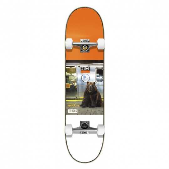 "Tricks Metro 7.375"" MC Complete Skateboard"