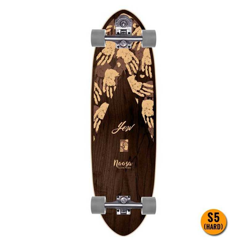 YOW Trucks Skateboard System V.4 S5 own Wave Carver Longboard Street Surfing