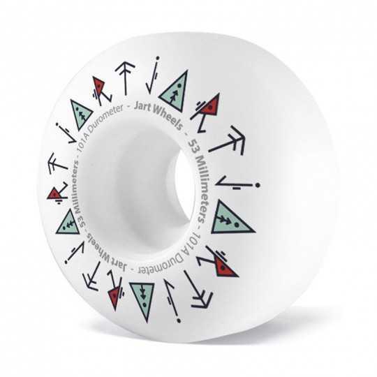 Jart Totem 53mm Skateboard Wheels
