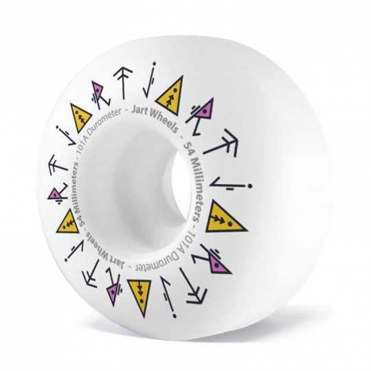Jart Totem 54mm Skateboard Wheels