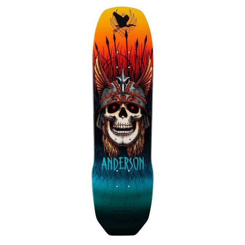 "Powell Peralta Flight Anderson Heron 8.45"" Skateboard Deck"