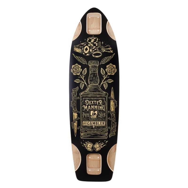 Landyachtz The Gambler Longboard Deck