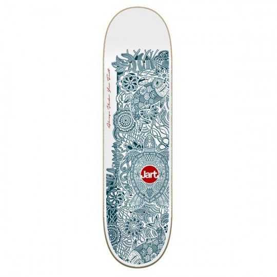 "Jart Henna 8"" LC Plateau Skateboard"