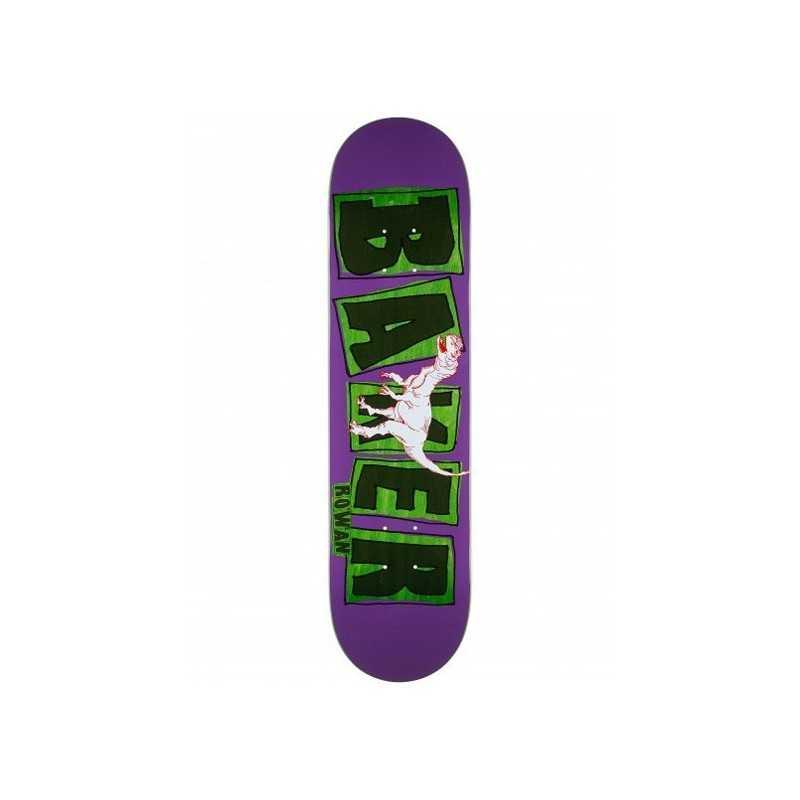 "Baker Zorilla Brand Logo 7.875"" Plateau Skateboard"
