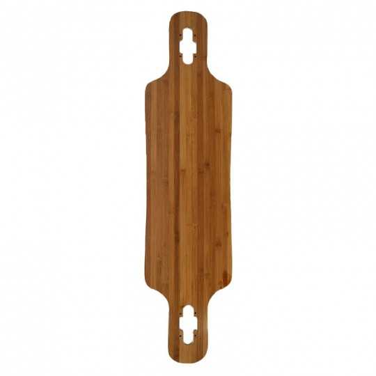 "DT 39"" Bamboo & Fibre Longboard Vierge"