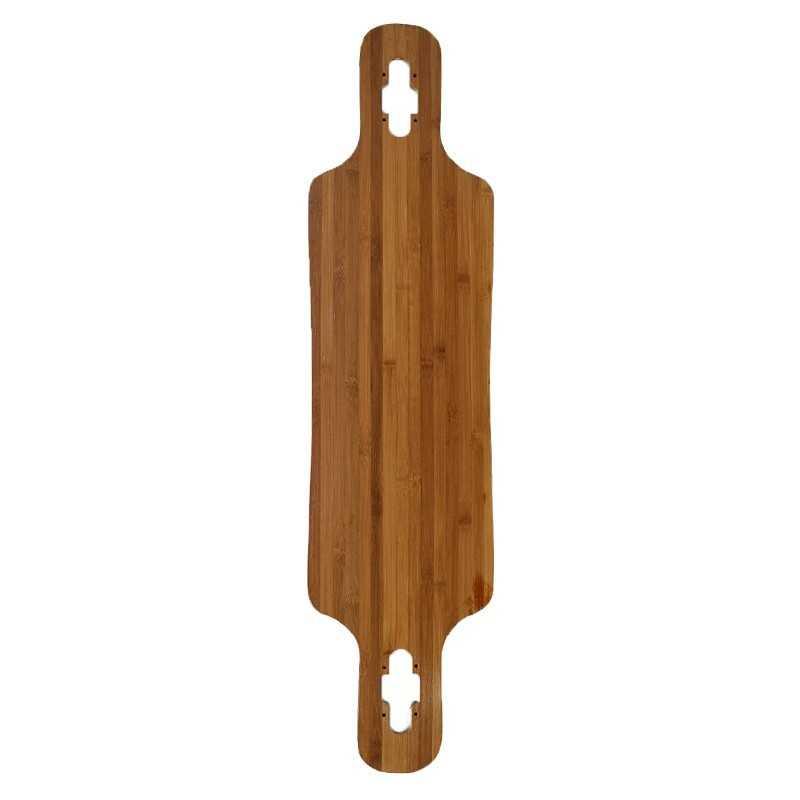 """DT 39"""" Bamboo & Fibre Blank Longboard Deck"""