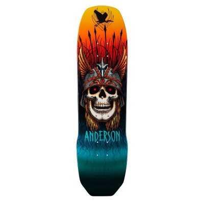 "Powell Peralta Anderson Heron 8.45"" Flight Plateau Skateboard"