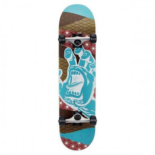 "Santa Cruz Manyo Hand 7.75"" Complete Skateboard"