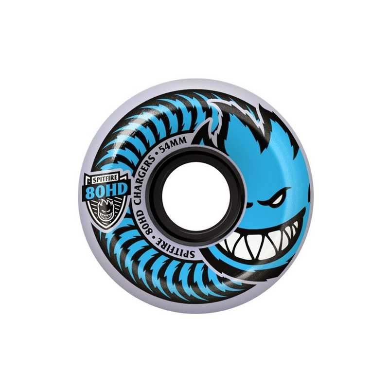 Spitfire Chargers 80HD 54mm Grey/Blue Skateboard Wheels