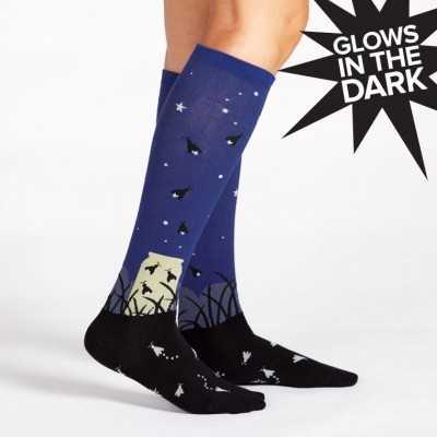 "Sock It To Me ""Nightlight"" Knee-high Socks"