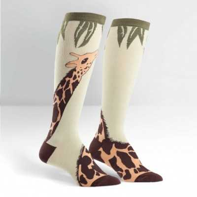 "Sock It To Me ""Giraffe"" Knee-high Socks"