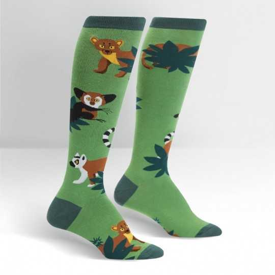 "Sock It To Me ""Madagascar Menagerie"" Knee-high Socks"