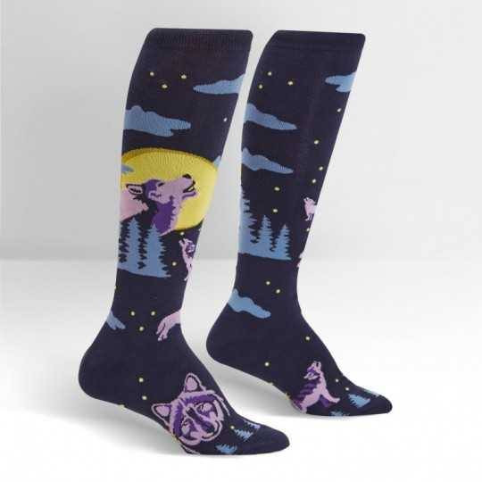 "Sock It To Me ""6 Wolf Moon"" Chaussettes Mi-bas"
