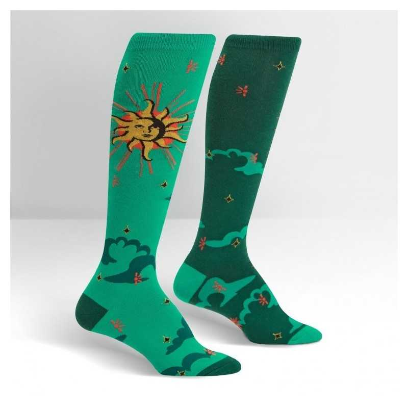 "Sock It To Me ""Sun & Moon"" Chaussettes Mi-bas"