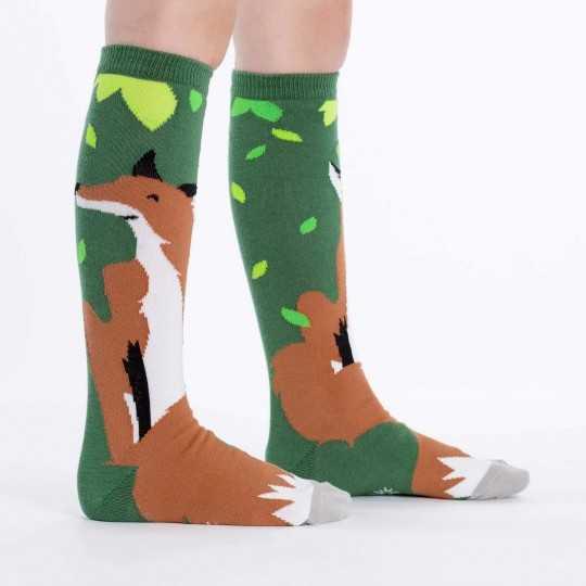 "Sock It To Me ""Foxy"" Kids Knee-high Socks"