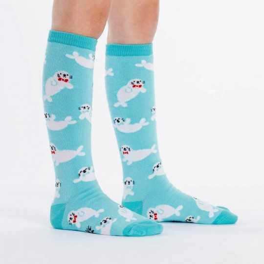 "Sock It To Me ""Baby Seals"" Chaussettes Mi-bas Enfants"
