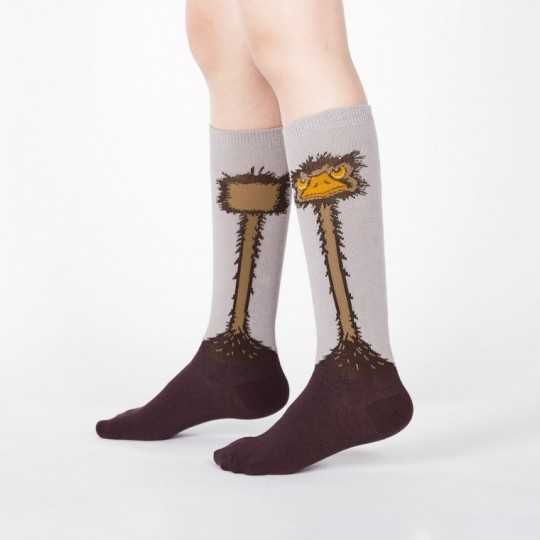"Sock It To Me ""Ostrich"" Chaussettes Mi-bas Enfants"