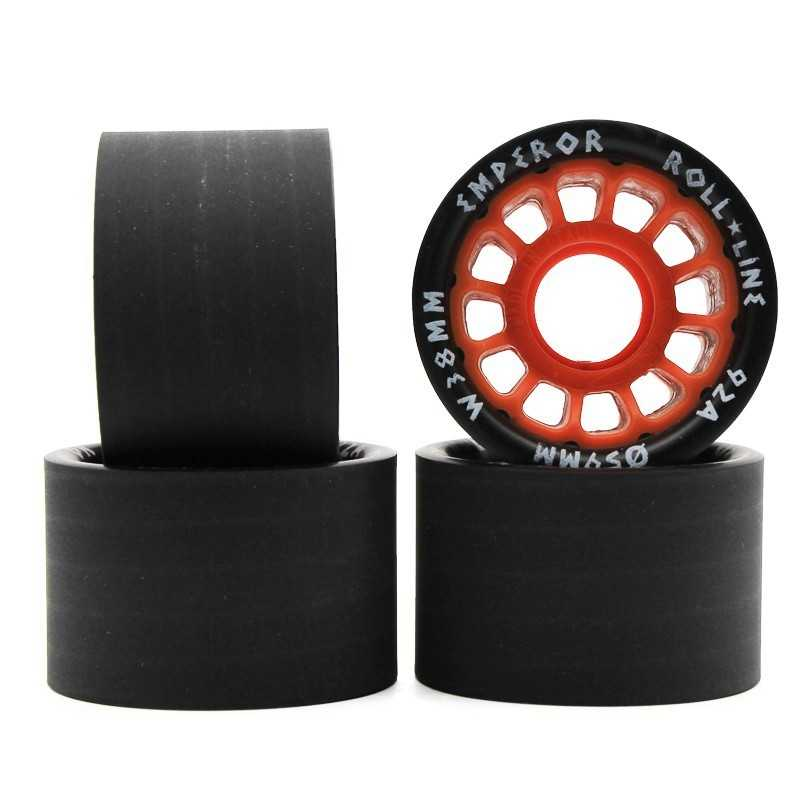 Roll Line Gladiator 62x38 Roller Skate Wheels(4Pk)