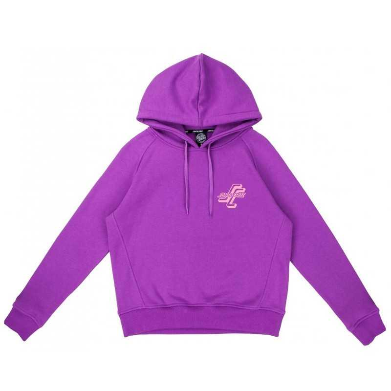 Santa Cruz Stacked OGSC Hood Purple