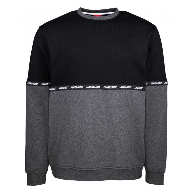 Santa Cruz Mixtape Black/Charcoal Sweat