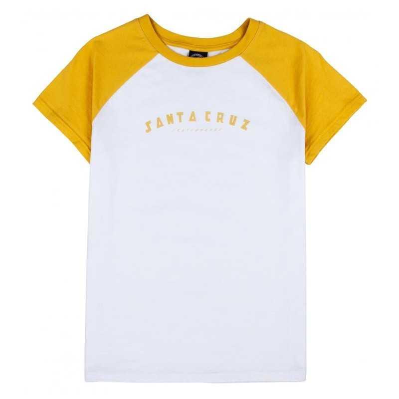 Santa Cruz Headliner Raglan T-Shirt Femme