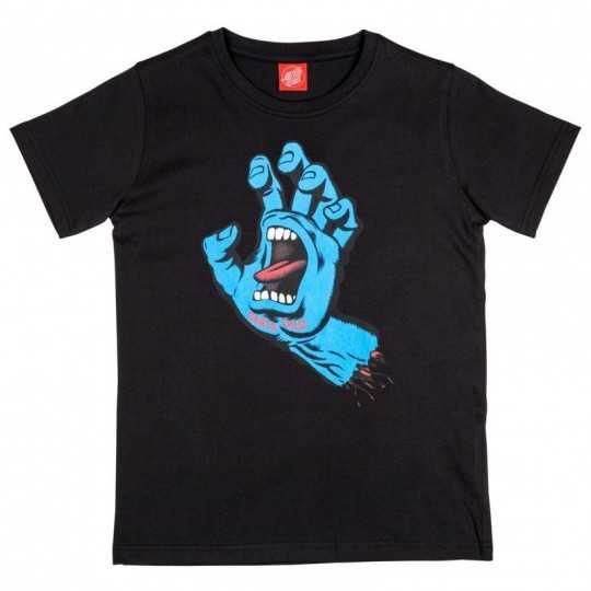 "Santa Cruz ""Screaming Hand"" Noir Tee Shirt Enfant"