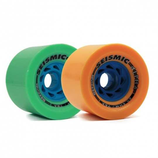 Seismic Alpha Defcon 80.5mm DH Roues Longboard