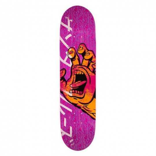 "Santa Cruz Hando 8"" Taper Tip Plateau Skateboard"