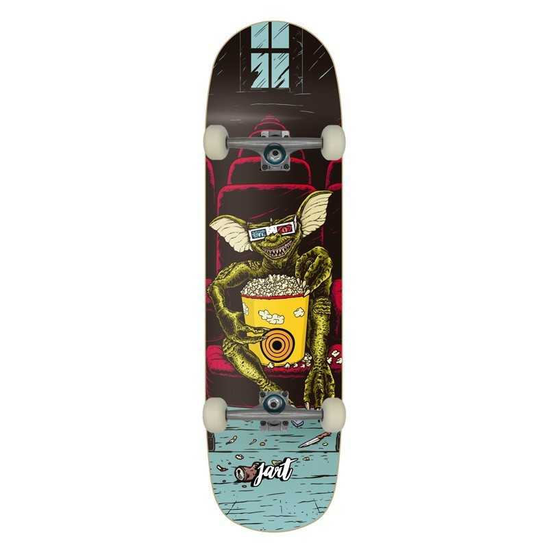 "Jart Mogwai 8.375"" Skateboard Complet"