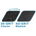 Seismic Lokton 36 Grit Fishnet Longboard Griptape