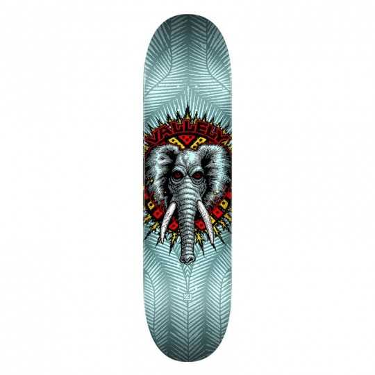 "Powell Peralta Vallely PP 8.25"" Blue Skateboard Deck"