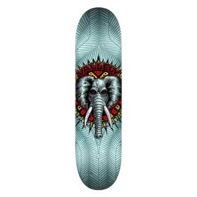 """Powell Peralta Vallely PP 8.25"""" Blue Plateau Skateboard"""