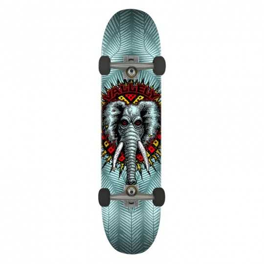"""Powell Peralta Vallely PP 8.25"""" Blue Skateboard Complet"""