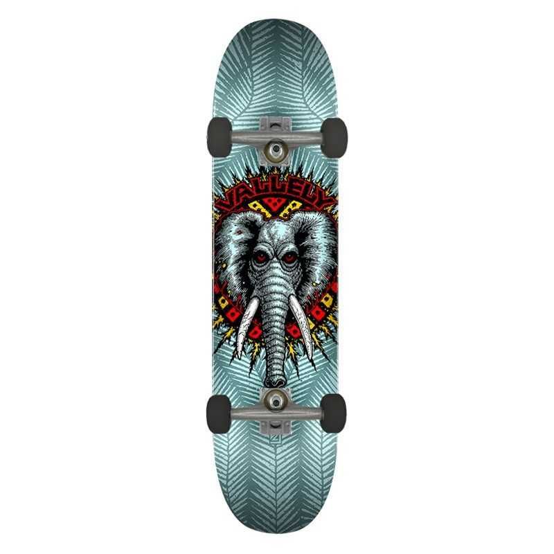 "Powell Peralta Vallely PP 8.25"" Blue Complete Skateboard"