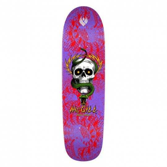 "Powell Peralta Flight McGill 9.01"" Skull Snake II Plateau Skateboard"