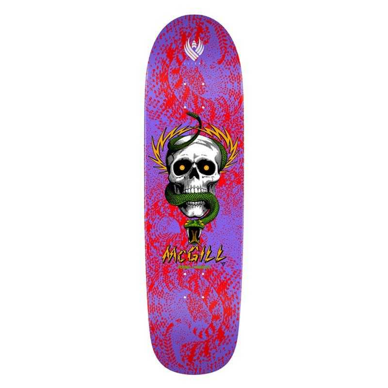 "Powell Peralta Flight McGill 9.01"" Skull Snake II Skateboard Deck"