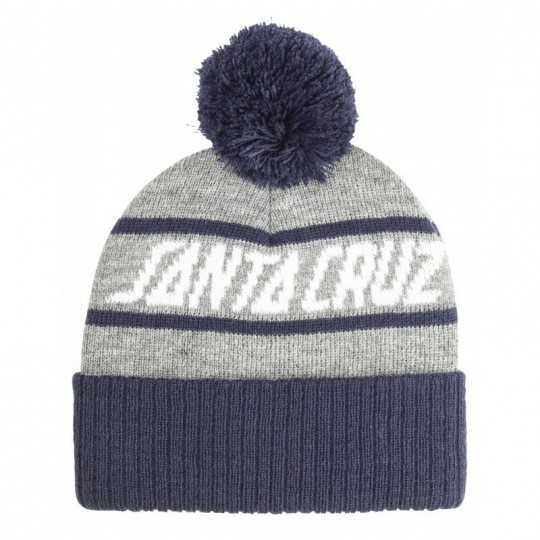 "Santa Cruz Bonnet ""Strip Stripe"" Navy/ Heather"