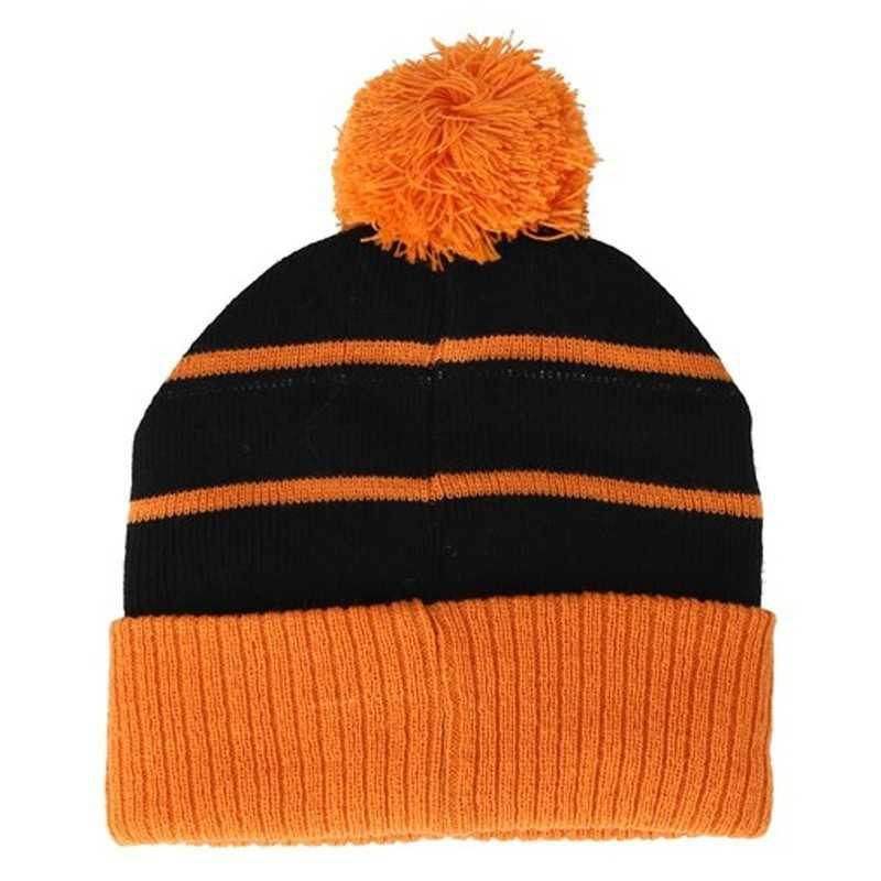 "Santa Cruz Bonnet ""Strip Stripe"" Black/ Tangerine"