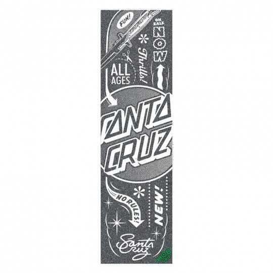 "Santa Cruz / MOB Flash Dot 9""x33"" Skateboard Griptape"