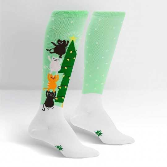 "Sock It To Me ""Naughty or Nice?"" Knee-high Socks"