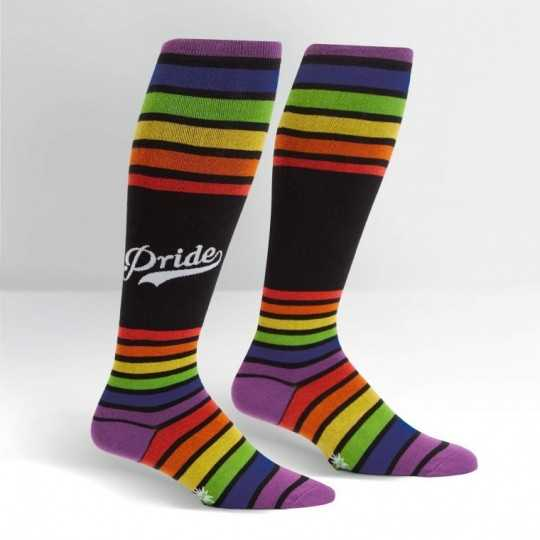 "Sock It To Me ""Team Pride"" Knee-high Stretch-It Socks"