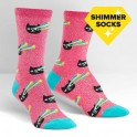 "Sock It To Me ""Pew! Pew!"" Women's Crew Socks"